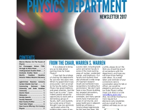 Duke Physics 2017 Newsletter
