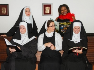 Staff Member Vines Cast in Community Performance of Sister Act