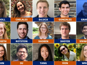15 Ph.D. Students Receive Prestigious NSF Fellowships